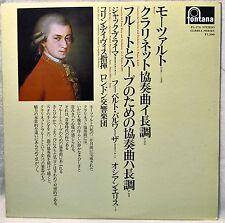 Mozart Concerto for Clarinet Flute Harp LP NM Vinyl Japan Brymer Colin Davis