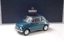 1:18 norev Fiat 500 l Blue turquesa 1968 New en Premium-modelcars