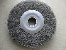 "WEILER 12"" WIDE CRIMPED CLEANING WIRE WHEEL  #93427"