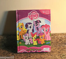 My Little Pony My Busy Books Playset Figurines Playmat Storybook Set NEW