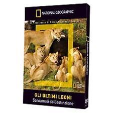 NATIONAL GEOGRAPHIC - GLI ULTIMI LEONI Salviamoli dall'estinzione DVD