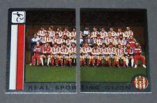 303 304 REAL PORTING GIJON PANINI LIGA FUTBOL 87 ESPAÑA 1986-1987 FOOTBALL
