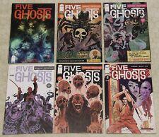 FIVE GHOSTS - THE HAUNTING OF FABIAN GRAY  (2013) Set #1 - 6 NM (IMAGE Comics) !