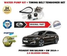 FOR PEUGEOT 508 + SW RXH 2.0 BLUEHDI 2014-> WATER PUMP SET + TIMING CAM BELT KIT