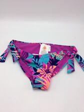 $40 Roxy Womens bikini bottom trop pink  size 12 Large G105