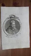 1775 Effigie/Ritratto Papa Clemente VIII Pontefice (Ippolito Aldobrandini Fano)
