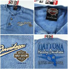 Vintage 90's Harley Davidson Acid Wash T-Shirt L Large (Loose Fit) Daytona FL