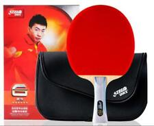 100% Genuine Long Handle DHS Paddle Bat R6002 Table Tennis Racket w/ 5 GIFTs