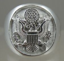 US Army mens  .925 sterling silver ring jewelry solid size  10.5