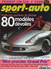 SPORT AUTO n°411 Avril 1996* BMW Z3/RENAULT SPYDER SUBARU IMPREZA GT BMW 840