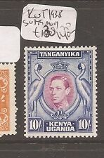 Kenya Uganda & Tanganyika 1938 KGVI 10/- Birds SG 149 MOG (8axe)