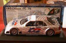 MERCEDES C KLASSE #1 D2 AMG ITC 1996 SCHNEIDER EXCLUSIV CARS 1/18 DEKRA MOBIL 1