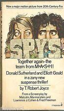 SPYS movie Donald Sutherland Elliott Gould 1974 PB book TOUGH