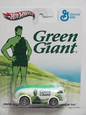 HOT WHEELS GENERAL MILLS  HAULIN' GAS GREEN GIANT