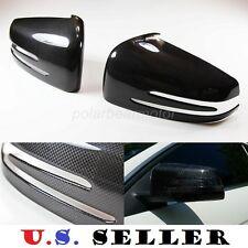 2010-2014 Mercedes Benz C250 C300 C350 C63 W204 Real Carbon Fiber Mirror Covers