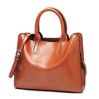 Women Artificial Leather Totes Bag Shoulder Bag Crossbody Handbag Casual Large