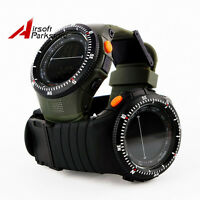 Tactical Outdoor Men's Sports Digital LED Watch Waterproof Shockproof Wristwatch