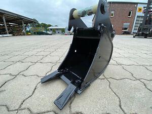 - Tieflöffel Baggerlöffel - MS01 Symlock - 250 mm -