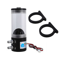 500L/H 10W DC 12V CPU CO2 Cooling Water cooler  Pump Tank Heat Exchanger Mute