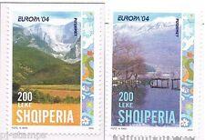 2004 Albanië 2966a-2967a Europa CEPT Vakantie - holidays