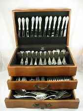 """Sterling Silver """"KING RICHARD"""" Towle - Place Service Set for 12, 120 Pcs."""