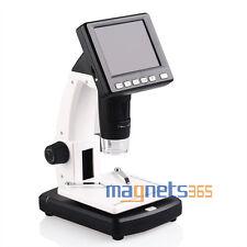 "3.5"" LCD 500X Desktop Digital MicroScope 5MP HD USB TV Camera Video Recorder"