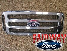 06 - 07 Super Duty F250 F350 F450 F550 OEM Genuine Ford Chrome w/ Black Grille