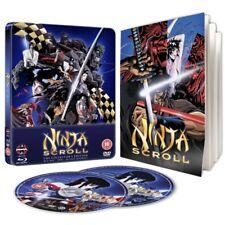Ninja Scroll Steelbook Blu-ray & DVD