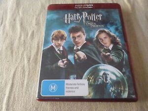 Harry Potter and the Order of the Phoenix HD DVD Region Free  Daniel Radcliffe
