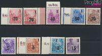 DDR 435-442 (kompl.Ausg.) mit 439b postfrisch 1954 Fünfjahresplan (II (9187996