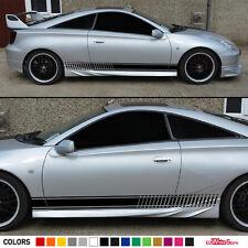 Stickers Decal for Toyota Celica ZZT231 GT S Stripe Body Sport Wing Lip Bumper