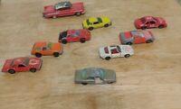 Vintage Lot Of Matchbox Cars & trucks