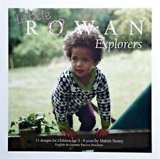 Childrens KNITTING PATTERN BOOK DK Yarn Rowan Little Explorers KNITTING BOOK