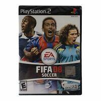 FIFA Soccer 08 (Sony PlayStation 2, 2007) Brand New Factory Sealed