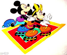 """20"""" DISNEY  MICKEY & MINNIE MOUSE  CHARACTER WALL SAFE FABRIC DECAL CUT OUT"""