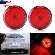 21 SMD Red Lens LED Bumper Reflector Light for Toyota Sienna Corolla Scion xB iQ