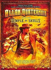 Allan Quatermain and the Temple of Skulls (DVD, 2008) WORLD SHIP AVAIL!