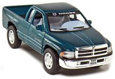 "Brand New 5"" Kinsmart Dodge Ram 1500 Pickup Truck Diecast Model Toy 1:44 Green"
