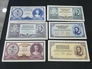 HUNGARY 1-10 MILLION  PENGO 1945-1946