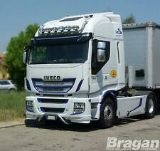 Roof Bar + LEDs + Jumbo Spots + Clear Beacon For Iveco Stralis Active Space Time