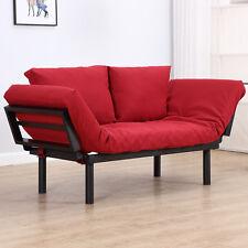 HOMCOM  Divano 2 Posti Multifunzionale Funzione Chaise Lounge, Letto 3 in 1 i