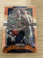 2019-20 Panini Prizm Myles Turner Orange Cracked Ice Prizm Parallel Card #216