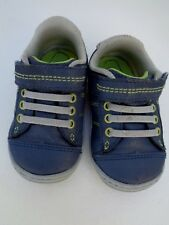 Surprise by Stride Rite Sneakers Baby Boys Shoes size 4 Hilbert Leather Faux