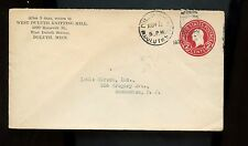 US Small Town Stationary Advertising Cover (Knitting Mill) 1924 Duluth, Minn