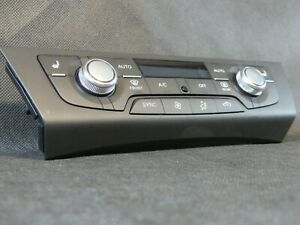 AUDI A6 C7 4G A7 RS7 _ CLIMATE CONTROL DISPLAY PANEL AIR CONDITION
