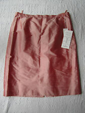 Long Pink Silk Skirt in Size 20 by Elegance - BNWT - Special Occasion - W40""