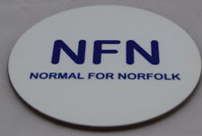 NFN - Normal For Norfolk fun coaster - ideal gift