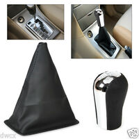 5 Speed Gear Stick Shift Knob + Gaiter Boot Cover fit 1998- 2009 Toyota Corolla