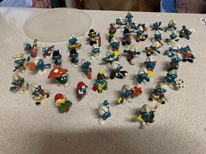 Vintage Smurf Figures Collection Peyo