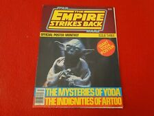 Vintage Science Fiction Poster Magazine Star Wars Empire Strikes Back T